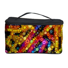 Color Play In Bubbles Cosmetic Storage Cases by KirstenStar
