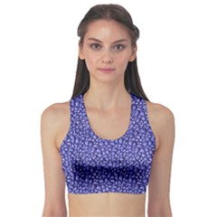 Abstract Texture Print Sports Bra by dflcprintsclothing