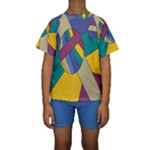 Unknown Abstract Modern Art By Eml180516 Kid s Short Sleeve Swimwear