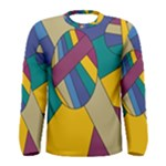 Unknown Abstract Modern Art By Eml180516 Men s Long Sleeve Tee