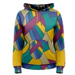 Unknown Abstract Modern Art By Eml180516 Women s Pullover Hoodie