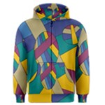 Unknown Abstract Modern Art By Eml180516 Men s Zipper Hoodie