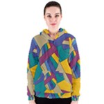 Unknown Abstract Modern Art By Eml180516 Women s Zipper Hoodie