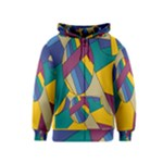 Unknown Abstract Modern Art By Eml180516 Kids  Zipper Hoodie