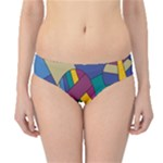 Unknown Abstract Modern Art By Eml180516 Hipster Bikini Bottoms