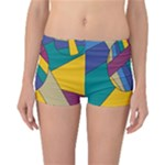 Unknown Abstract Modern Art By Eml180516 Reversible Boyleg Bikini Bottoms