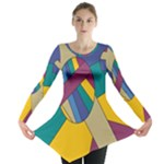 Unknown Abstract Modern Art By Eml180516 Long Sleeve Tunic