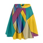 Unknown Abstract Modern Art By Eml180516 High Waist Skirt