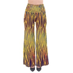 Colored Tiger Texture Background Pants by TastefulDesigns