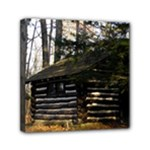 Cabin At The Pennsylvania Grand Canyon  by Ave Hurley  Mini Canvas 6  x 6  (Stretched)