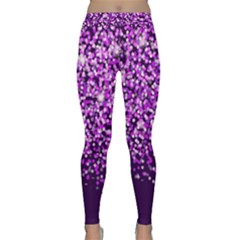 Purple Rain Yoga Leggings