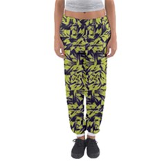 Modern Abstract Interlace Women s Jogger Sweatpants by dflcprintsclothing