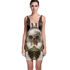 Skull Magic Sleeveless Bodycon Dress by icarusismartdesigns