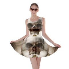 Skull Magic Skater Dress by icarusismartdesigns