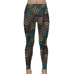 Glowing Abstract Yoga Leggings