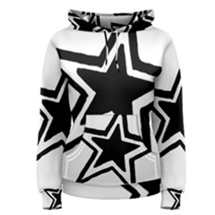 Double Star Women s Pullover Hoodie by TRENDYcouture