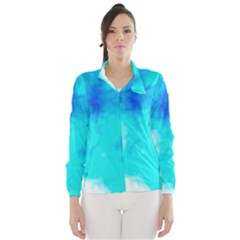 Turquoise Sky  Wind Breaker (women) by TRENDYcouture