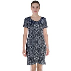 Floor Trial Short Sleeve Nightdress by MRTACPANS
