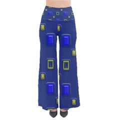 3d Rectangles                                                     Women s Chic Palazzo Pants by LalyLauraFLM