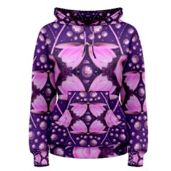 Magic Lotus In A Landscape Temple Of Love And Sun Women s Pullover Hoodie by pepitasart