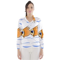 Cute Fish Wind Breaker (women)