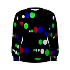 Colorful Dots Women s Sweatshirt by Valentinaart