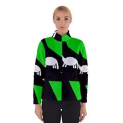 Wolf And Sheep Winterwear by Valentinaart