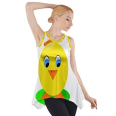 Cute Chicken  Side Drop Tank Tunic by Valentinaart