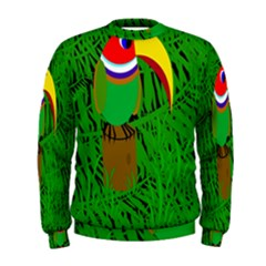 Toucan Men s Sweatshirt by Valentinaart