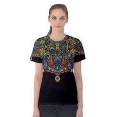 Eleanor Pattern Women s Cotton Tee by Contest2492222