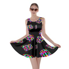 Colorful Abstraction Skater Dress by Valentinaart