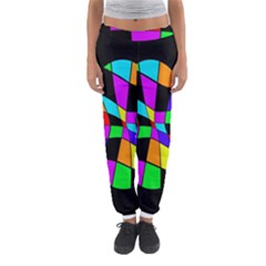 Abstract Colorful Flower Women s Jogger Sweatpants by Valentinaart