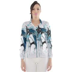 Caged Bird Wind Breaker (women) by lvbart