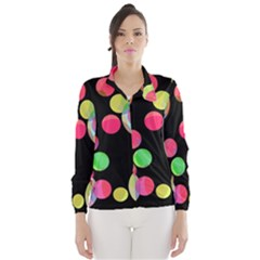 Colorful Decorative Circles Wind Breaker (women)