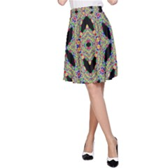 Time Sphere A-line Skirt by MRTACPANS