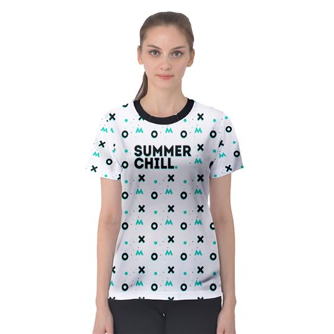 Summer Chill Women s Sport Mesh Tee by Contest2494987