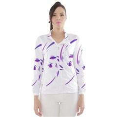 Purple Twist Wind Breaker (women) by Valentinaart