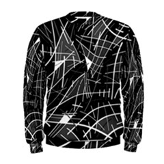 Gray Abstraction Men s Sweatshirt by Valentinaart