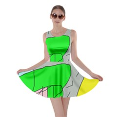 Crazy Abstraction Skater Dress by Valentinaart