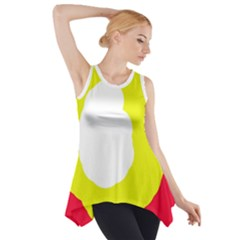 Colorful Abstraction Side Drop Tank Tunic by Valentinaart