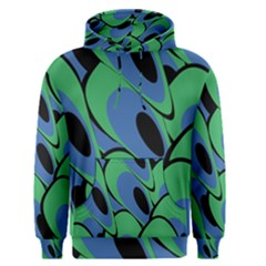Peacock Pattern Men s Pullover Hoodie by Valentinaart