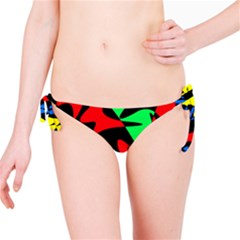 Colorful Abstraction Bikini Bottom by Valentinaart