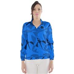 Blue Pattern Wind Breaker (women) by Valentinaart