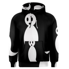Ghost Men s Pullover Hoodie by Valentinaart