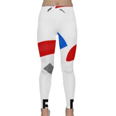 Logo Of The French Air Force (armee De L air) Yoga Leggings