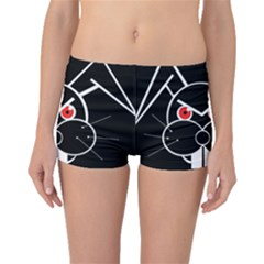 Evil Rabbit Boyleg Bikini Bottoms by Valentinaart
