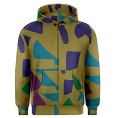 Colorful Abstraction Men s Zipper Hoodie by Valentinaart