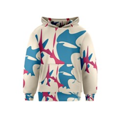 Decorative Amoeba Abstraction Kids  Pullover Hoodie by Valentinaart