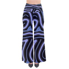 Blue Abstract Design Pants by Valentinaart