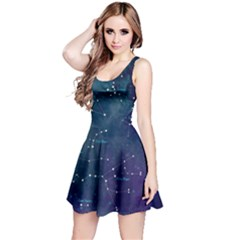 Constellations Reversible Sleeveless Dress by DanaeStudio